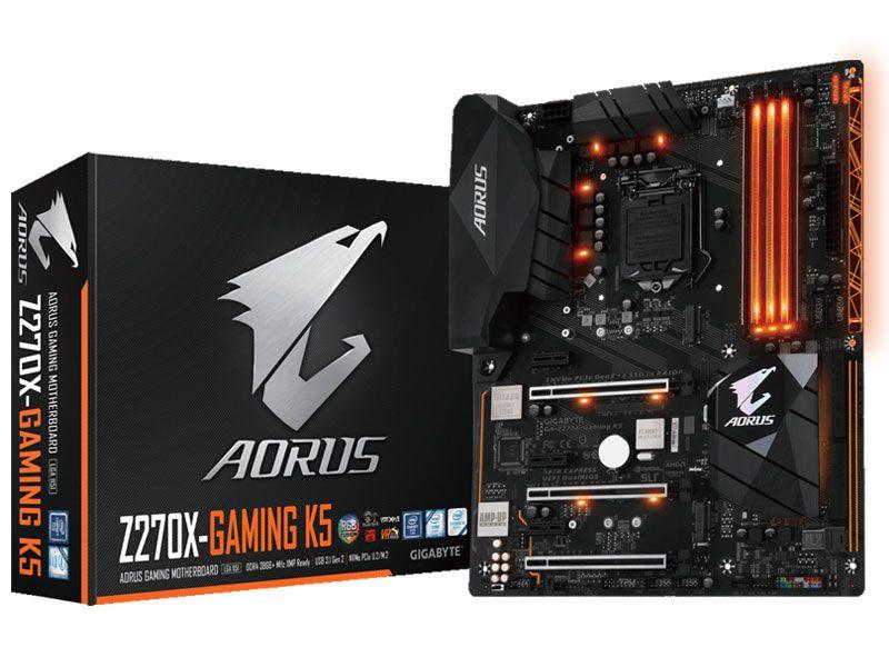Placa Mãe Lga 1151 Intel Gigabyte Ga-Z270X-Gaming K5 Aorus Atx Ddr4