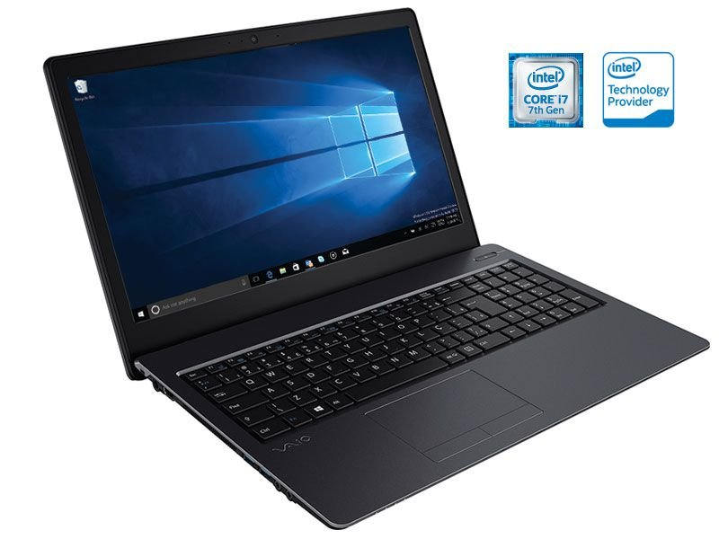 Notebook Vaio Fit 15S I7-7500U 1Tb 8Gb 15,6 Led Hdmi W10