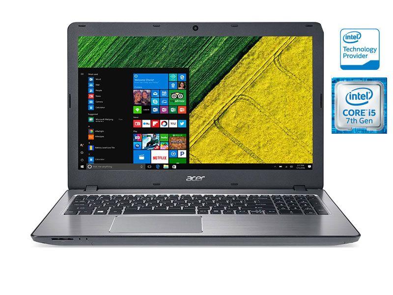 Notebook Acer F5 Core I5 7200U 8Gb Ddr4 2T Usb 3.1 Geforce 940Mx 2Gb