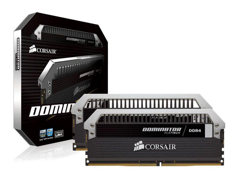 Memória Desktop Gamer Ddr4 Corsair 8Gb Kit(2X4Gb) 3000Mhz Platinum