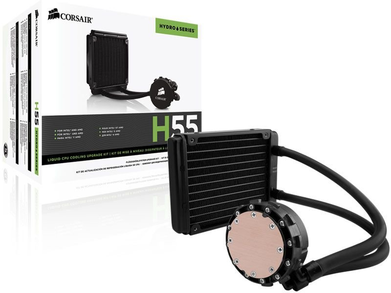 Hydro Cooling Corsair H55 Radiador De 120Mm