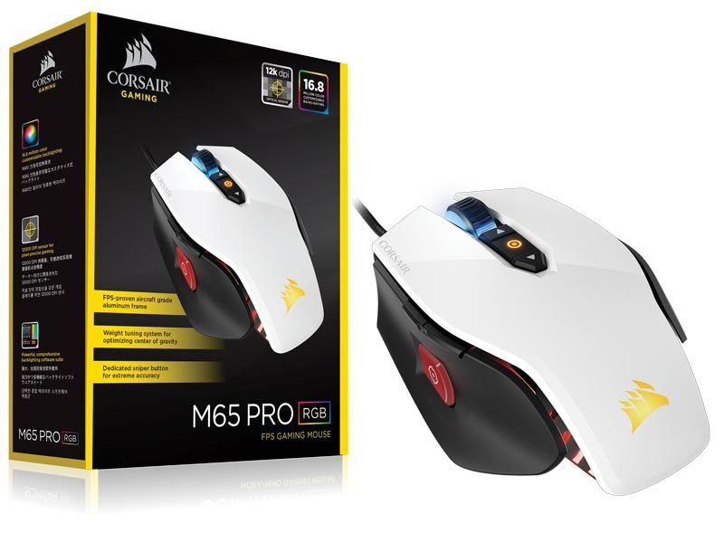 Mouse Gamer Corsair Vengeance M65 Pro Rgb 12000 Dpi