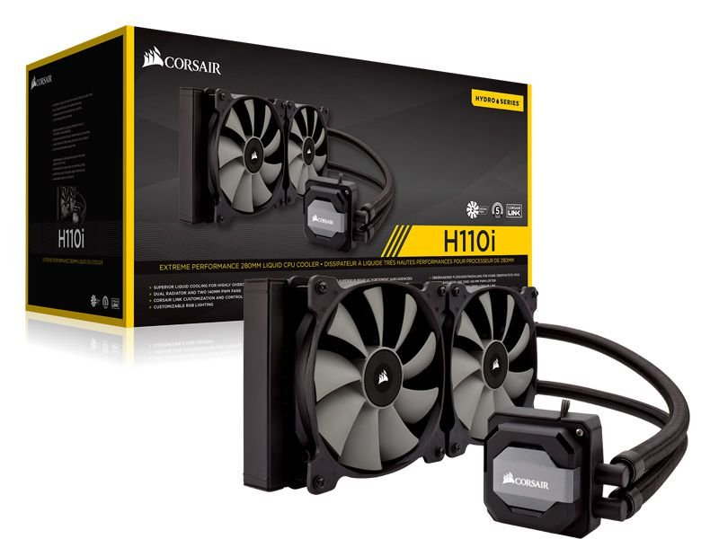 Hydro Cooling Corsair CW-9060026-WW H110I V2 Radiador De 280Mm