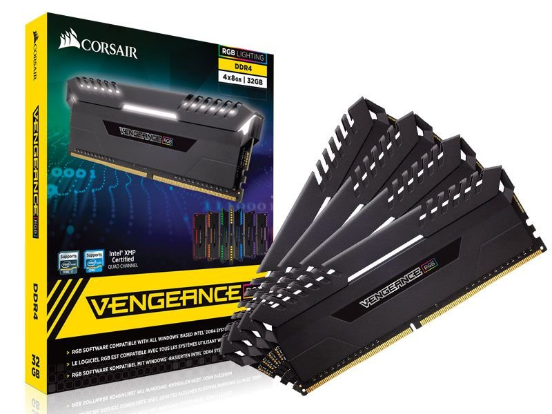 Memória Gamer Ddr4 Corsair Cmr32Gx4M4C3000C15 32Gb Kit (4X8Gb) 3000Mhz
