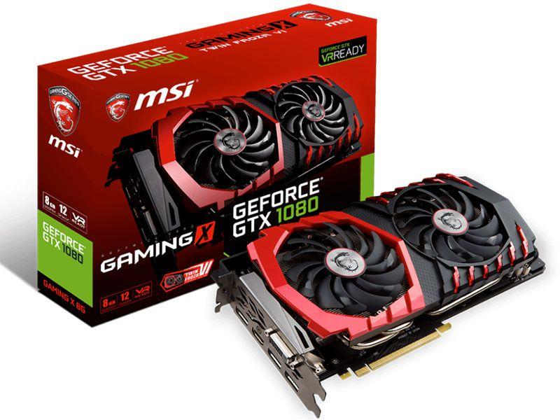 Geforce Msi Nvidia 912-V336-067 Gtx 1080 8Gb Ddr5 256Bit 10108Mhz
