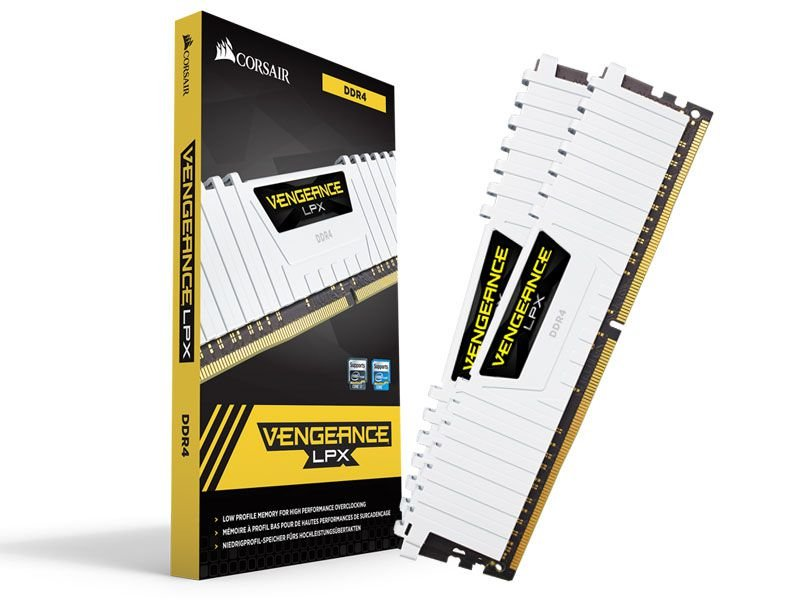 Memória Gamer Ddr4 Corsair Cmk32Gx4M2B3000C15W 32GB Kit (2X16Gb) 3000Mhz