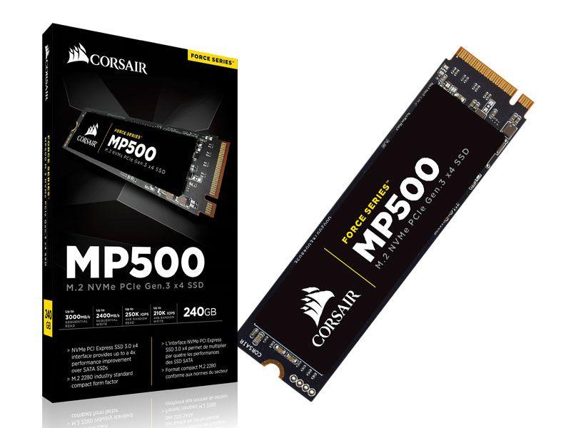 Ssd Desktop Notebook Corsair Cssd-F240Gbmp500 240Gb Mp500 M.2 2280 Nvme