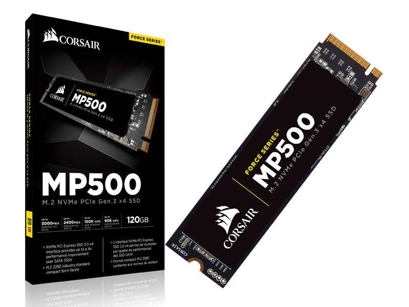 Ssd Desktop Notebook Corsair Cssd-F120Gbmp500 120Gb Mp500 M.2 2280 Nvme