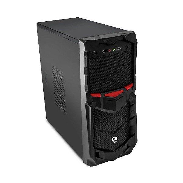 Gabinete atx Gamer 2b Mt-g50bk preto C3tech