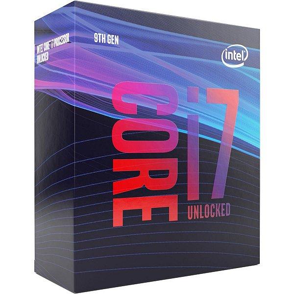Processador intel BX80684I79700K core i7 9700k socket 1151 3.6ghz 12mb cache 9Ger