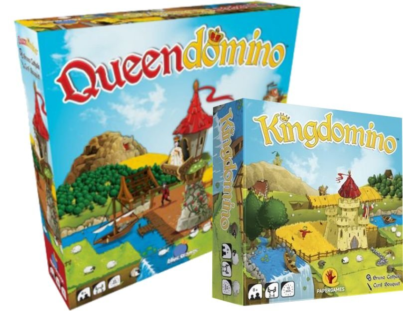 QueenDomino + KingDomino