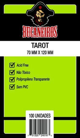 Sleeves Tarot- Bucaneiros - 70x120 mm