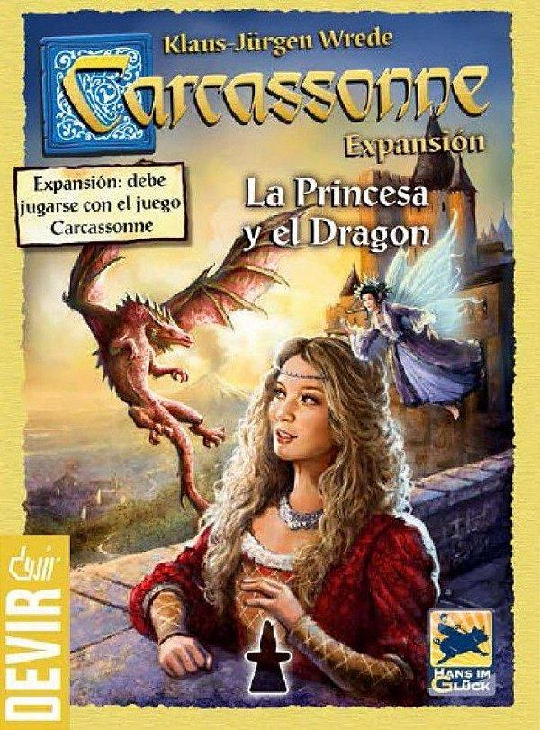 Carcassonne A Princesa e o Dragão