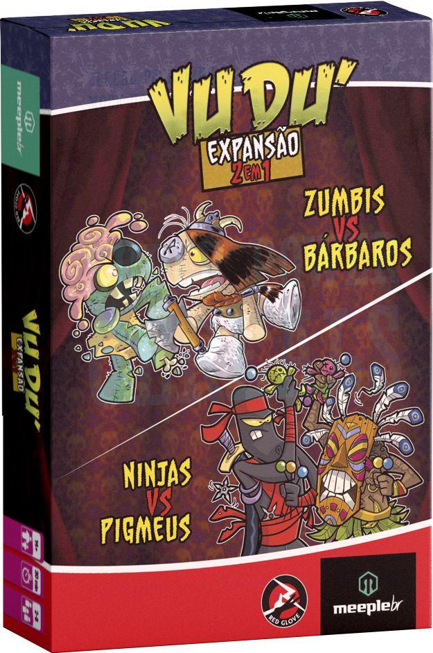 Vudu - Expansão 2 em 1 - Zumbis vs Bárbaros e Ninjas vs Pigmeus