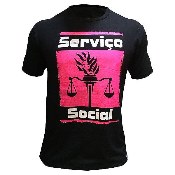 Camiseta de Serviço Social 00208