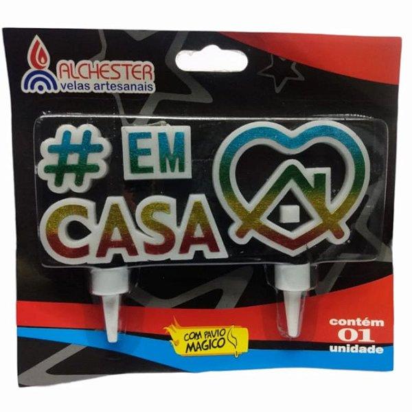 VELA  DE ANIVERSÁRIO # EM CASA - 01 UNIDADE - ALCHESTER