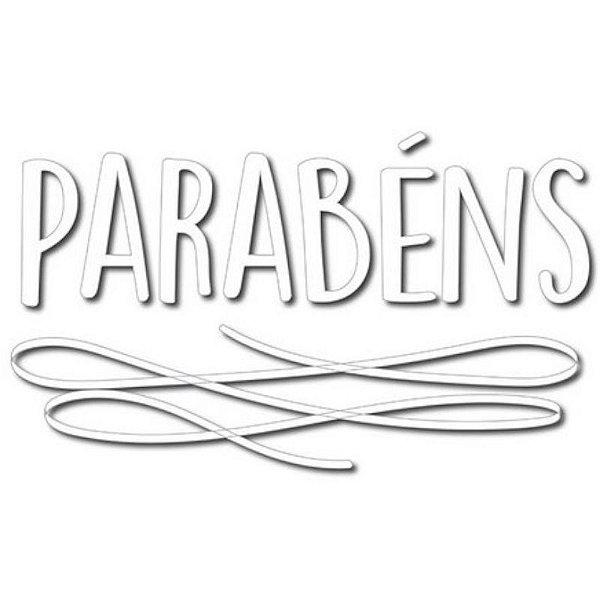 """TRANSFER PARA BALÃO PARABÉNS BRANCO P  - 12"""" A 18"""" - COM 01 UNIDADE -  CROMUS BALLOONS"""
