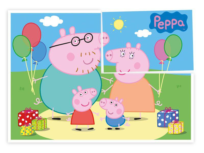 PAINEL GIGANTE DECORATIVO FESTA PEPPA PIG - REGINA FESTAS