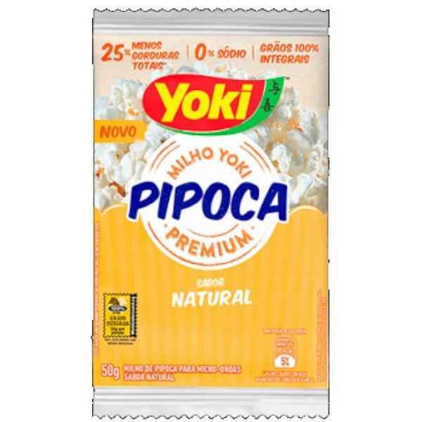 PIPOCA PARA MICRO-ONDAS NATURAL ZERO SÓDIO - 50 G - YOKI