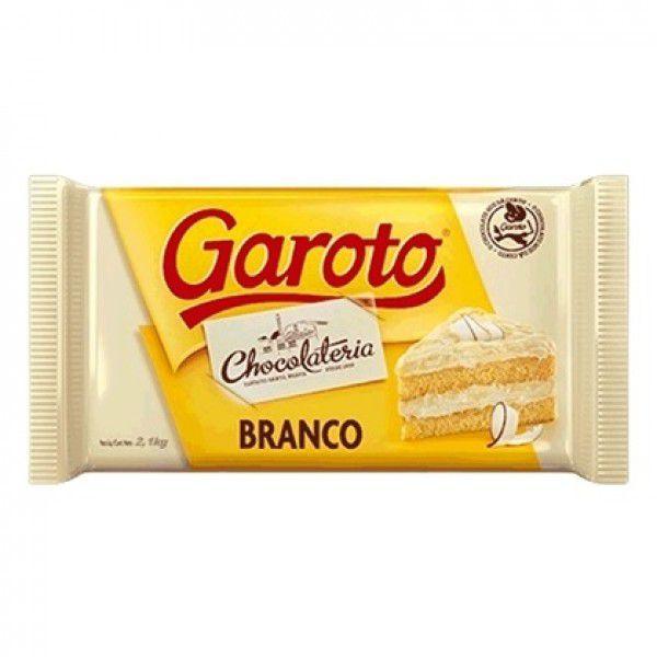 CHOCOLATE GAROTO BRANCO 2,1KG