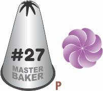 BICO DE CONFEITAR INOX PITANGA FECHADA #27 TAM P COD 2248 UN MASTER BAKER