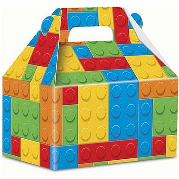 CAIXA MALETA SURPRESA FESTA LEGO 08 UNIDADES - JUNCO
