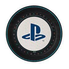 PRATO DESCARTÁVEL PLAYSTATION 08 UNIDADES - FESTCOLOR