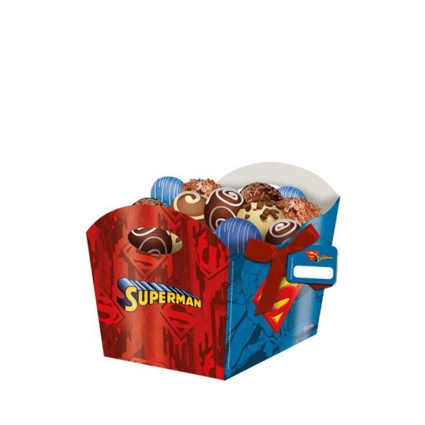 CACHEPOT SUPERMAN 08 UNIDADES - FESTCOLOR