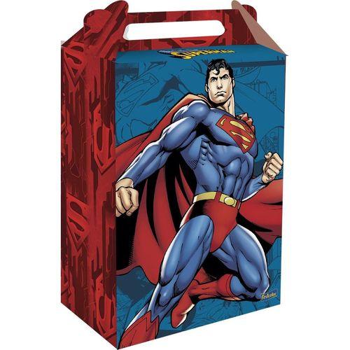 CAIXA SURPRESA FESTA SUPERMAN - 8 UNIDADES - FESTCOLOR
