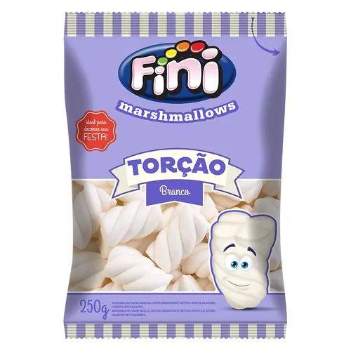 MARSHMALLOW TORÇÃO BRANCO 250G FINI