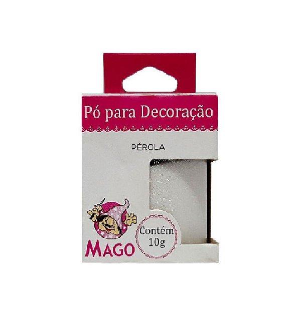 PÓ PARA DECORAÇÃO PÉROLA 10G - 01 UNIDADE - MAGO