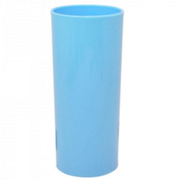 COPO LONG DRINK AZUL BABY - 360 ML - 01 UNIDADE - DESCARFEST