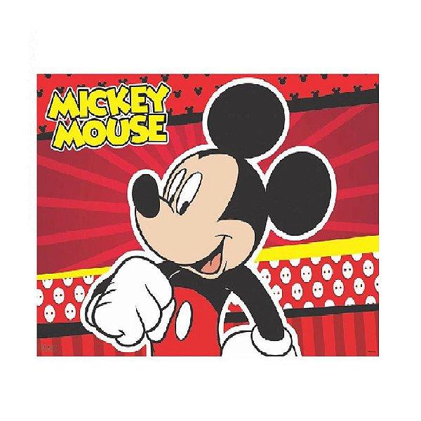 PAINEL DECORATIVO DE TNT MICKEY  REFERÊNCIA 302025 - 1,40 X 1,03 - 01 UNIDADE - PIFFER