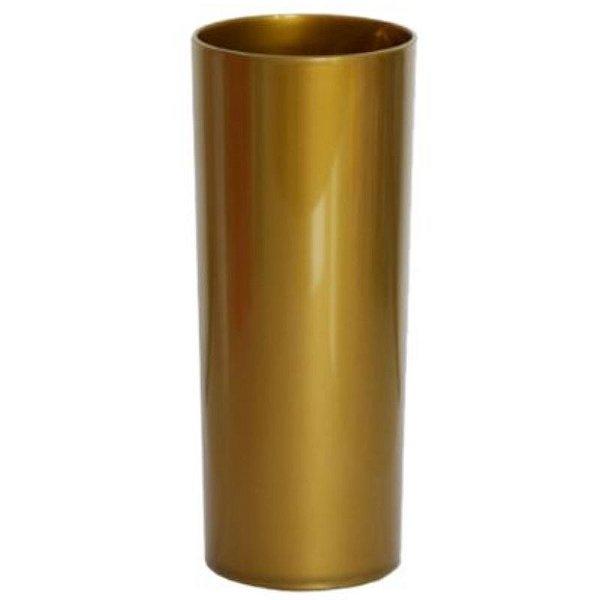 COPO LONG DRINK DOURADO  FECHADO - 360 ML - 01 UNIDADE - DESCARFEST