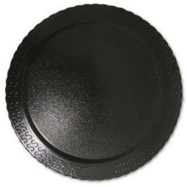 BASE PARA BOLO CAKE BOARD REDONDO PRETO 24 CM - ULTRAFEST