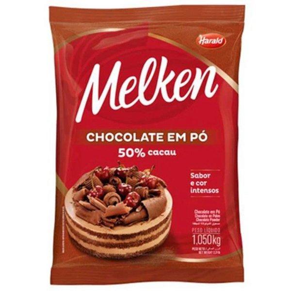 CHOCOLATE MELKEN EM PO 50% CACAU  1,050KG - HARALD