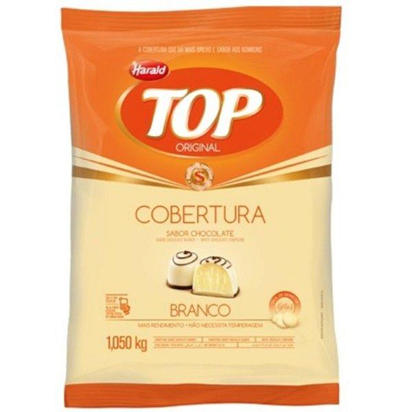 COBERTURA DE CHOCOLATE BRANCO TOP GOTAS - 1,050KG - HARALD