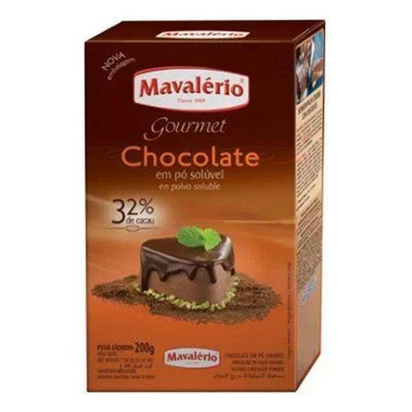 CHOCOLATE EM PÓ 32% CACAU 200 G BOLOS BROWNIE - MAVALÉRIO