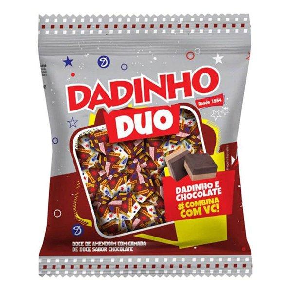 BALA DE CHOCOLATE DADINHO DUO 600G - DIZIOLI