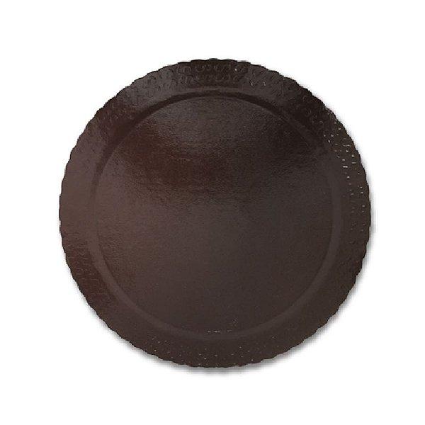 BASE PARA BOLO CAKE BOARD REDONDO MARROM 26 CM - ULTRAFEST
