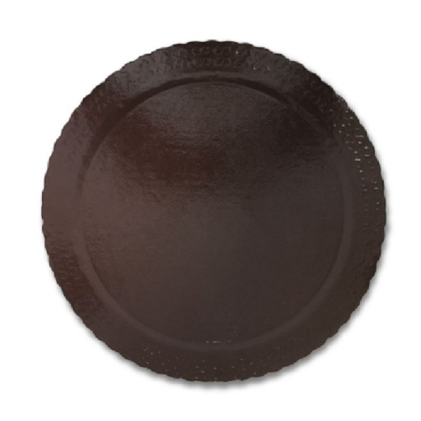 BASE PARA BOLO CAKE BOARD REDONDO MARROM 28 CM - ULTRAFEST