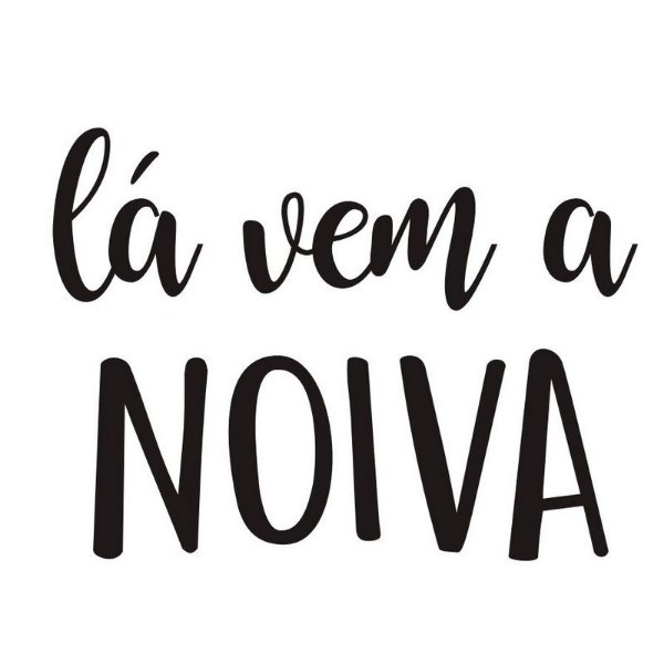 "TRANSFER PARA BALÃO G LA VEM A NOIVA - 20"" A 36"" - CROMUS BALLOONS"