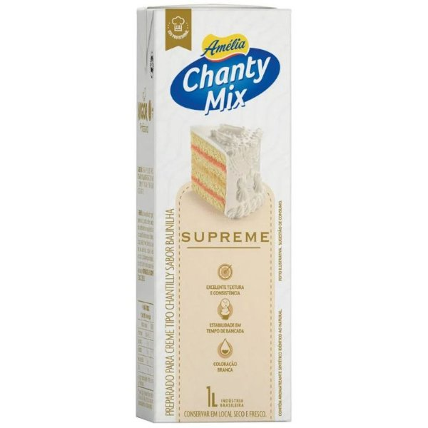 CHANTILLY CHANTY MIX SUPREME - 1L - AMÉLIA