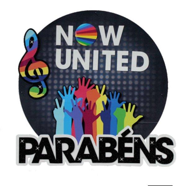 PAINEL PARABÉNS FESTA  NOW UNITED - REF 382039 - 01 UNIDADE - PIFFER
