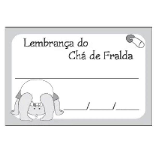 ETIQUETA DE LEMBRANÇA CHÁ DE FRALDA REF 416N - 50 UNIDADES - KID ART