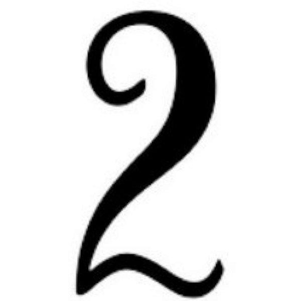 """TRANSFER PARA BALÃO P - 12"""" A 18"""" - NUMERO 2 - CROMUS BALLOONS"""