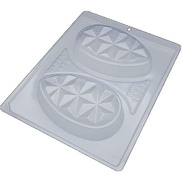 FORMA DE ACETATO COM SILICONE TABLET OVO 3D CÓD 10062 - BWB