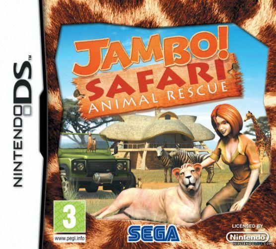 Jogo Jambo Safari Animal Rescue- (sem estojo) Nintendo DS - Seminovo