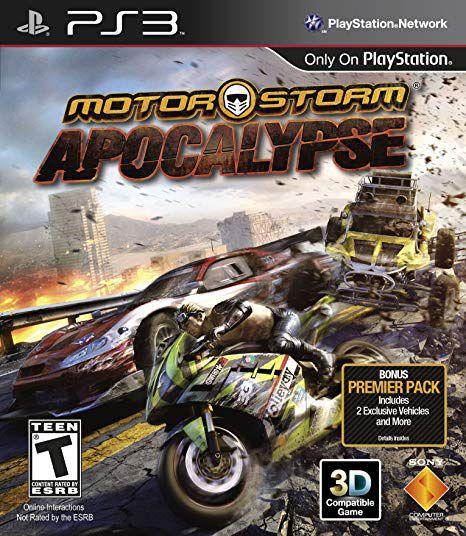 Usado: Jogo Motorstorm Apocalypse - PS3