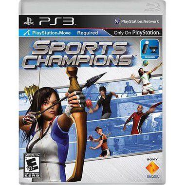 Usado: Jogo Sports Champions - PS3
